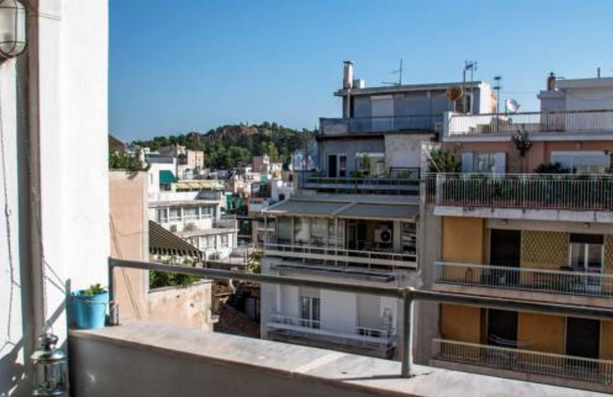5th floor apartment with city view Hotel Athens Greece