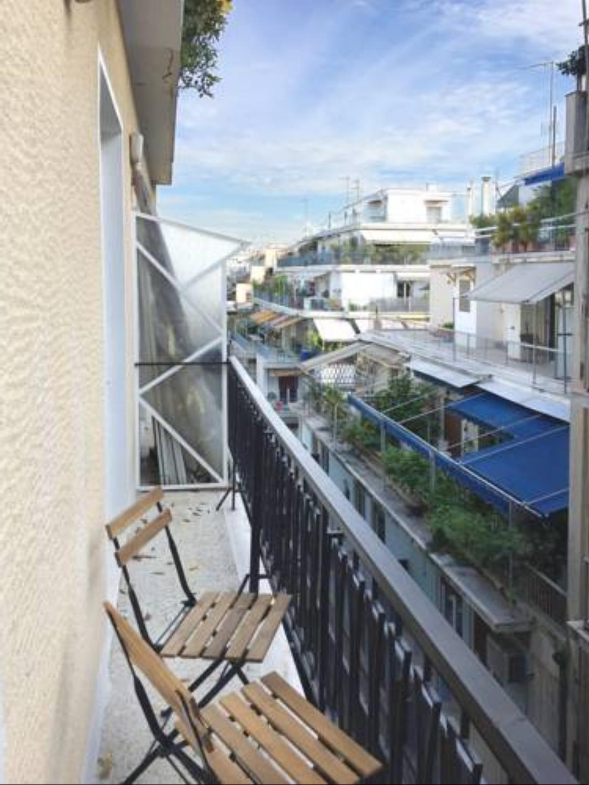 5th floor bright flat at bohemian Exarcheia Hotel Athens Greece