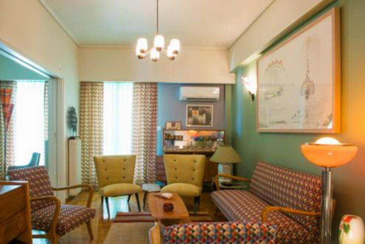 60's Style Apartment by Strefi Hill Hotel Athens Greece