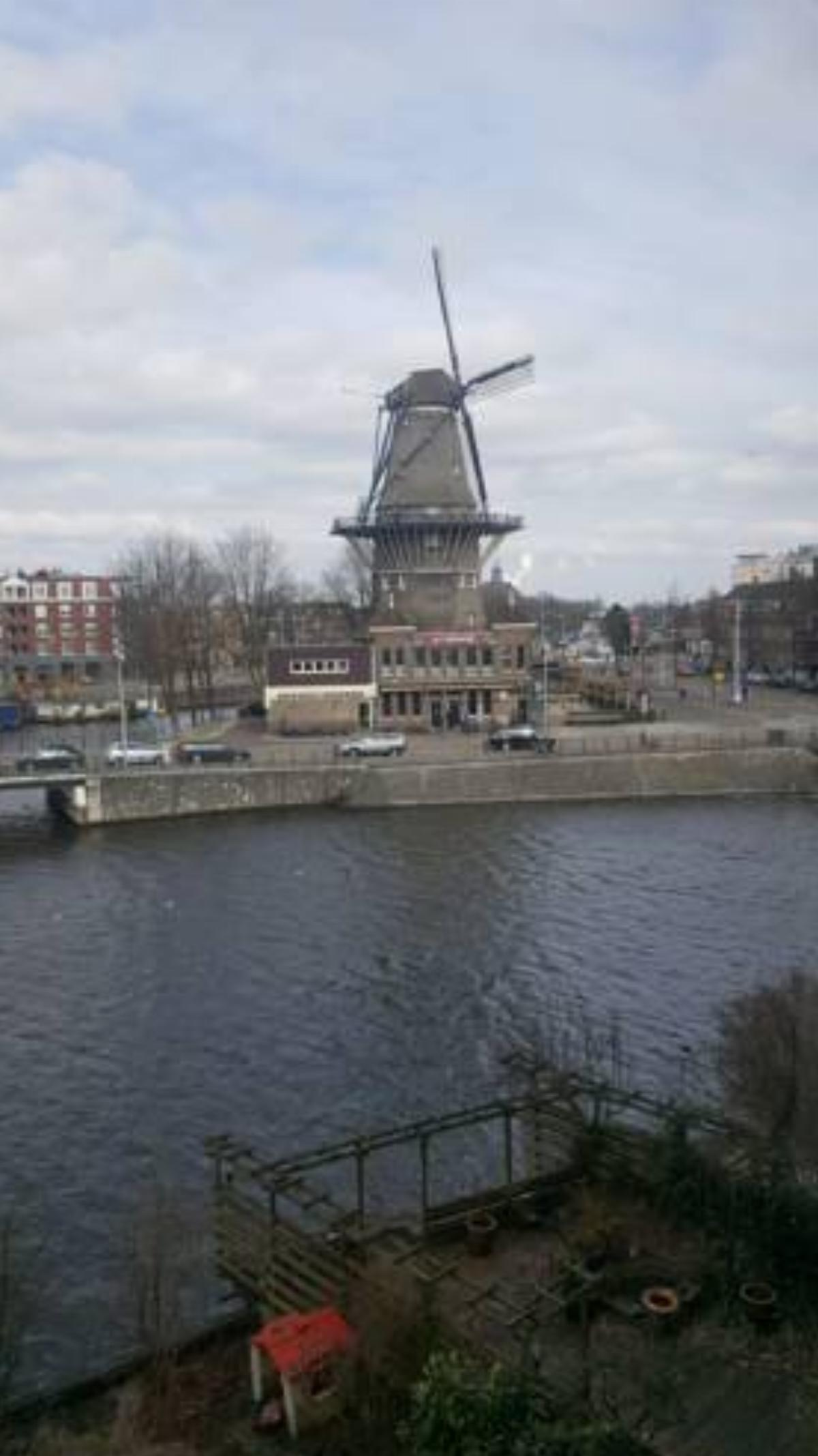 Amazing canalapartment with windmillview in city center! Hotel Amsterdam Netherlands