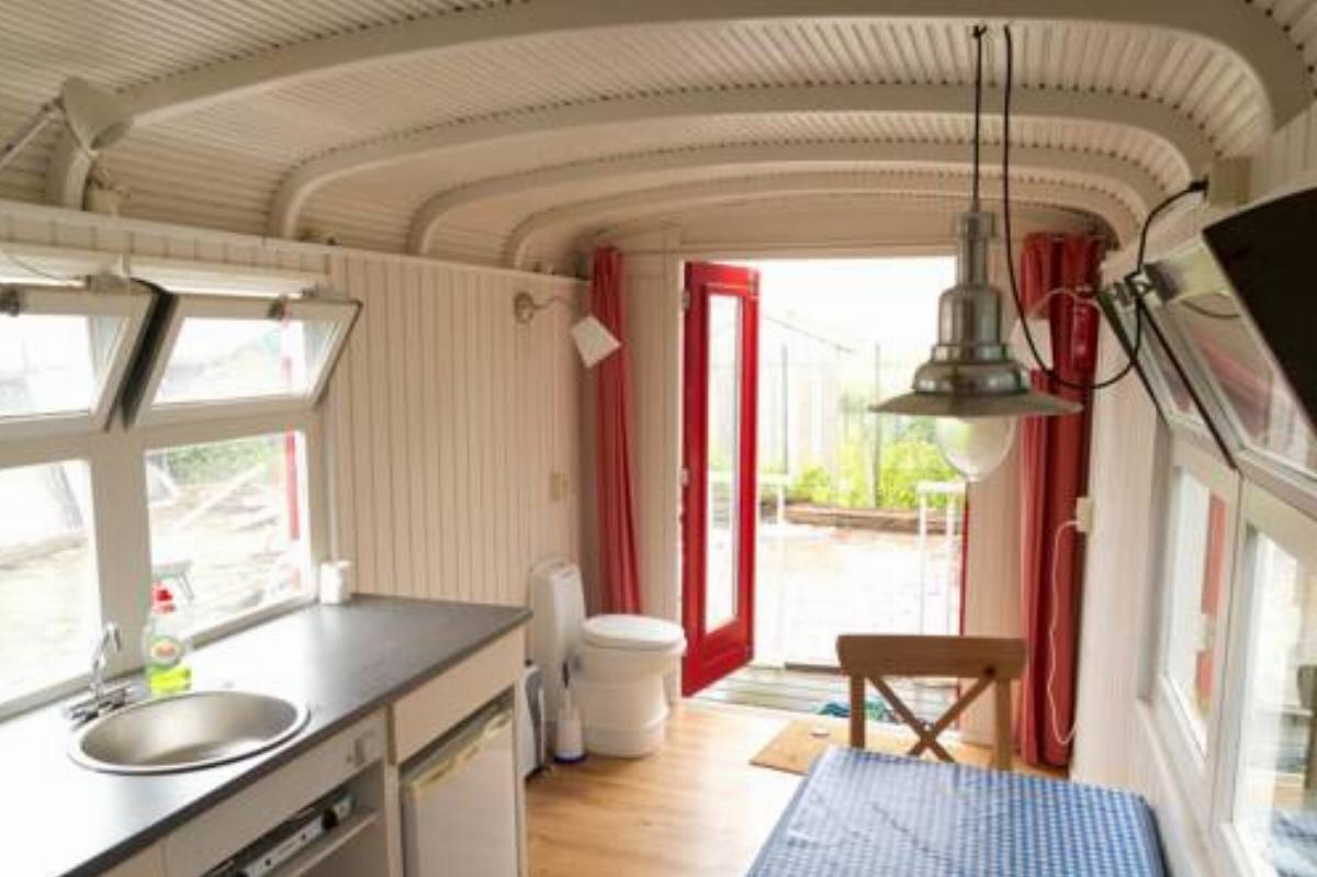 Circus wagon with great view, bikes, free parking Hotel Amsterdam Netherlands