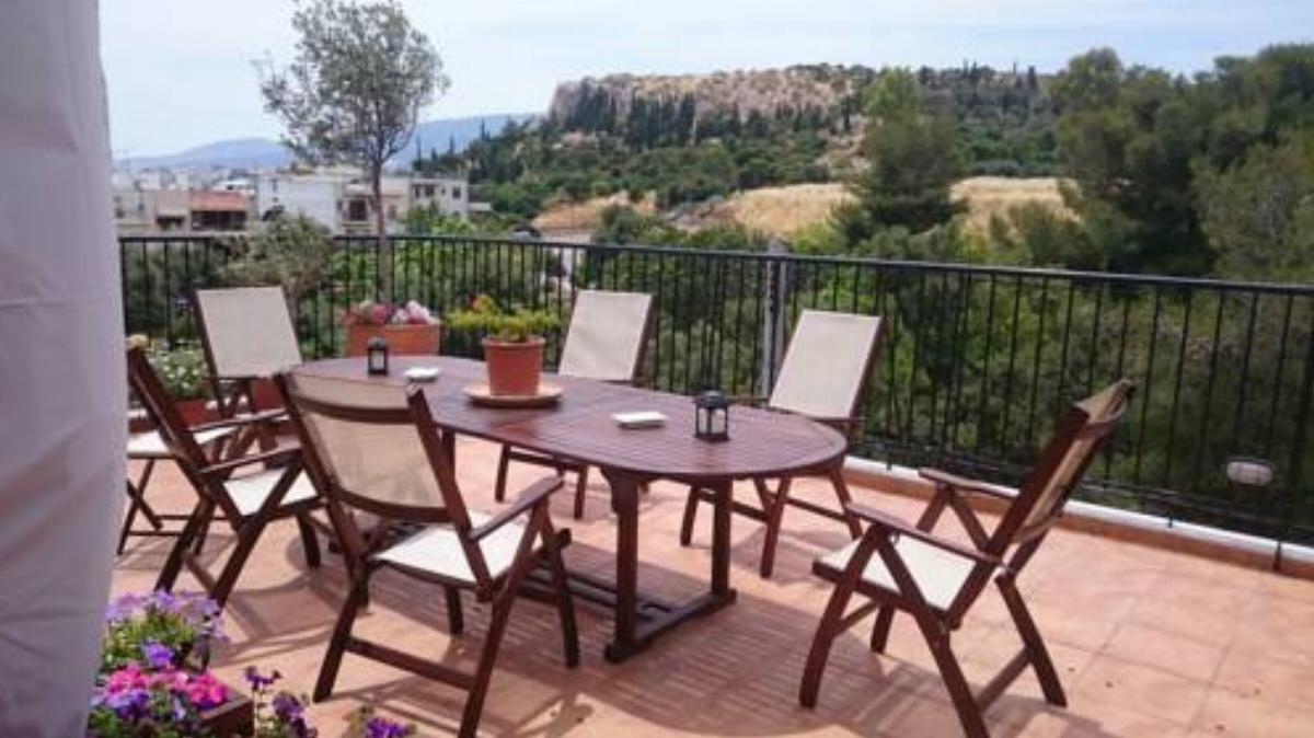 Classical aparment near Acropolis with roof garden Hotel Athens Greece