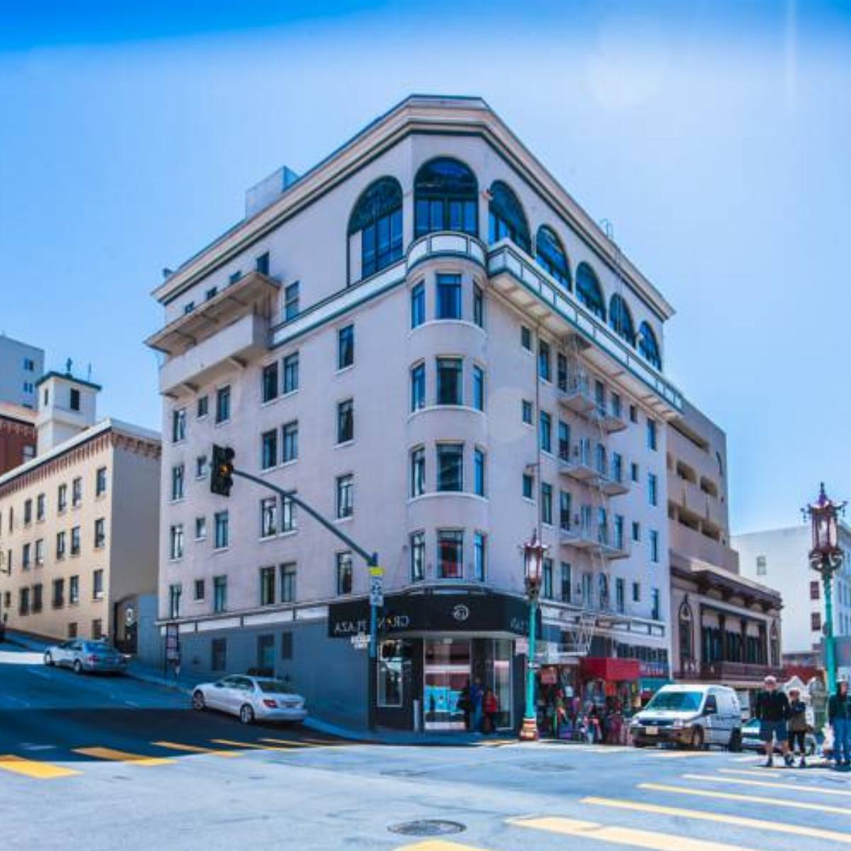 Grant Plaza Hotel Hotel San Francisco Usa Overview