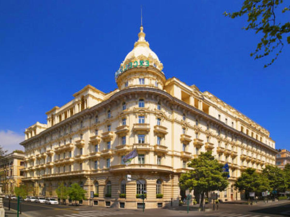 The Westin Excelsior Rome Hotel, Roma, Italy - overview